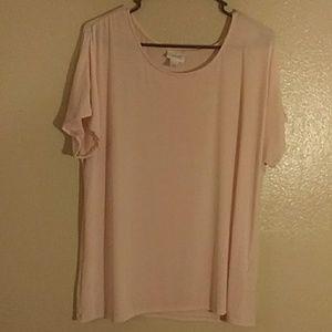 ☀ XXLarge JS pink blouse